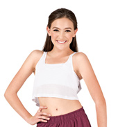 Child Oversized Crop Tank Top