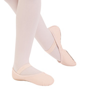 Adult Teknik Leather Full Sole Ballet Slipper