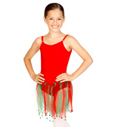 Holiday Child Ribbon Skirt