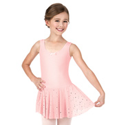 Girls Star Mesh Tank Dress