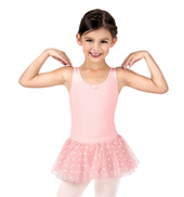 Girls Polka Dot Tank Tutu Dress