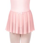 Girls Mesh Pull-On Skirt