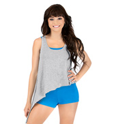 Adult Asymmetrical Tank Top