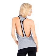 Adult Open Back Tank Top