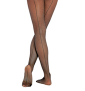 Child Fishnet Seamed Tights