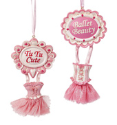 Ballet Dress Ornament - Set of 2