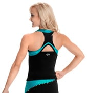 Adult Mesh Racer Back Top