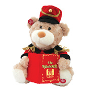 Talking Nutcracker Teddy Bear