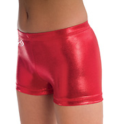 Adult Low Rise Metallic Short