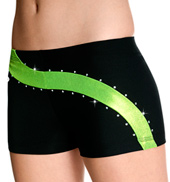 "Adult ""Lemon Lime Swirl"" Cheer Short"