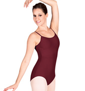 Adult Camisole Leotard With V-Back