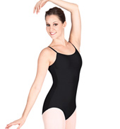 Adult Camisole Leotard with Adjustable Straps in Tall Sizes