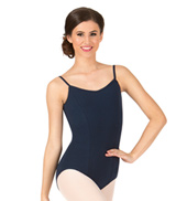 Adult Camisole Leotard with Princess Seams
