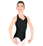 Child Halter Leotard with Princess Seams