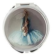 Blue Tutu Compact Mirror