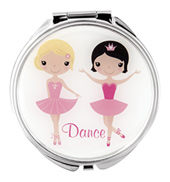 Little Ballerinas Compact Mirror