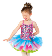 Girls/Adult Glitter in the Air 2 in 1 Costume