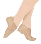Adult Triple Stretch Slip-On Jazz Boot