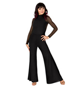 Adult Long Sleeve Palazzo Unitard