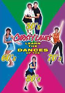 Christy Lanes Learn the Dances of the 50s, 60s, 70s and 80s DVD