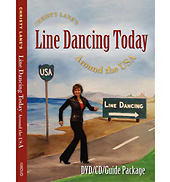 Christy Lanes Line Dancing Today Around the USA DVD/CD/Guide Package