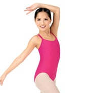 Girls Dolly Double Strap Camisole Leotard