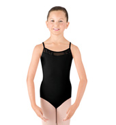 Girls Camisole Swirl Tulle Leotard