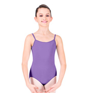 Child Thin Strap Camisole Leotard