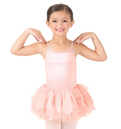 Girls Glacier Rouched Camisole Dress