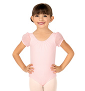 Girls Kani Puff Sleeve Leotard