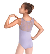 Girls Embroidered Shiloh Tank Leotard with Diamantes