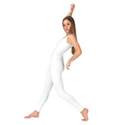 Adult Scoop Neck Cotton Tank Unitard