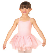 Child Sona Gathered Lace Camisole Tutu Dress