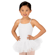 Girls Taruna Frill & Lace Camisole Tutu Dress