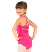 Child Vipula Gathered Lace Camisole Leotard