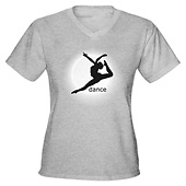 Women Dance V-Neck T-Shirt