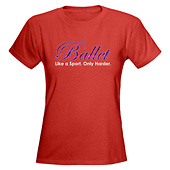 Women Ballet Dance T-Shirt