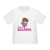 Toddler Future Ballerina Baby T-Shirt