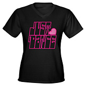 Women Just Dance V-Neck T-Shirt