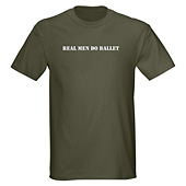Men Real Men Do Ballet T-Shirt