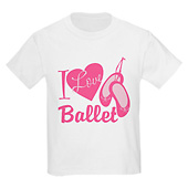 Child I Love Ballet T-Shirt