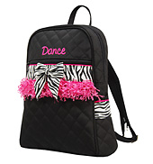 Zebra Trim Backpack