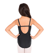 Child Rhinestone Back Camisole Leotard