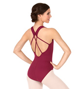 Adult Tank Leotard with Strappy Back