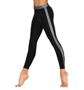 Girls Side Stripe Leggings