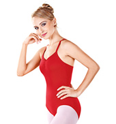 Adult Keyhole Camisole Leotard