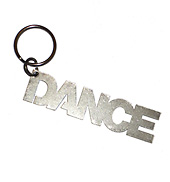 Dance Key Chain