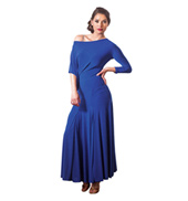 Adult Long Sleeve Long Sack Ballroom Dress