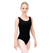 Adult Crossover Back Tank Leotard