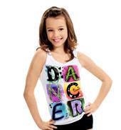 Child Dancer Burnout Tank Top